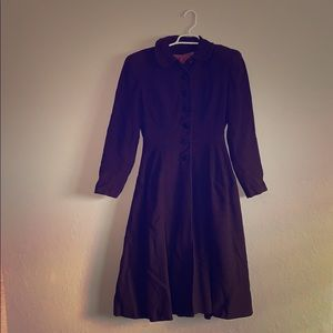 Jackets & Blazers - True 1940s Vintage Virgin Wool Coat by Juilliard